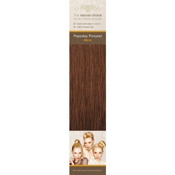 Flip-In Hair Pasoday Ponytail - 5 Chestnut Brown