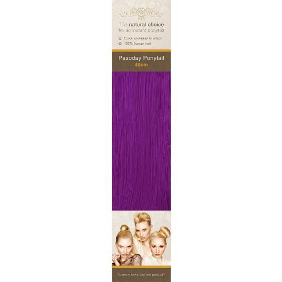 Flip-In Hair Pasoday Ponytail - Purple