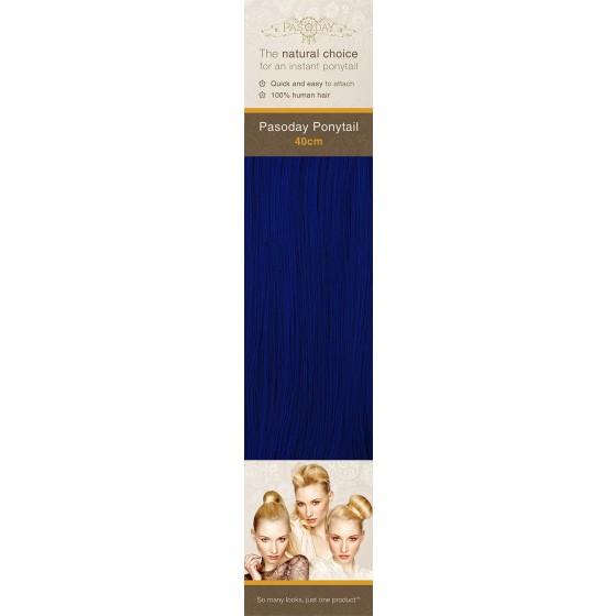 Flip-In Hair Pasoday Ponytail - Royal Blue