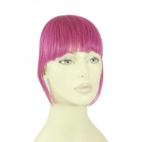 Remy Human Hair Clip-in Pony pink - roze