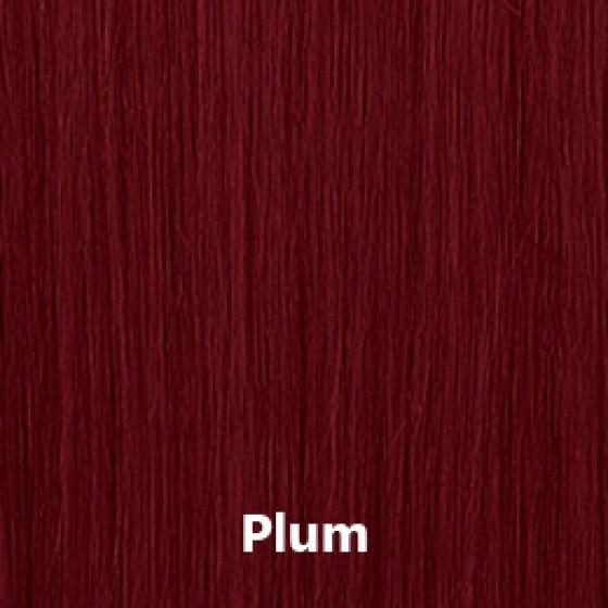 Flip-In Hair Plum