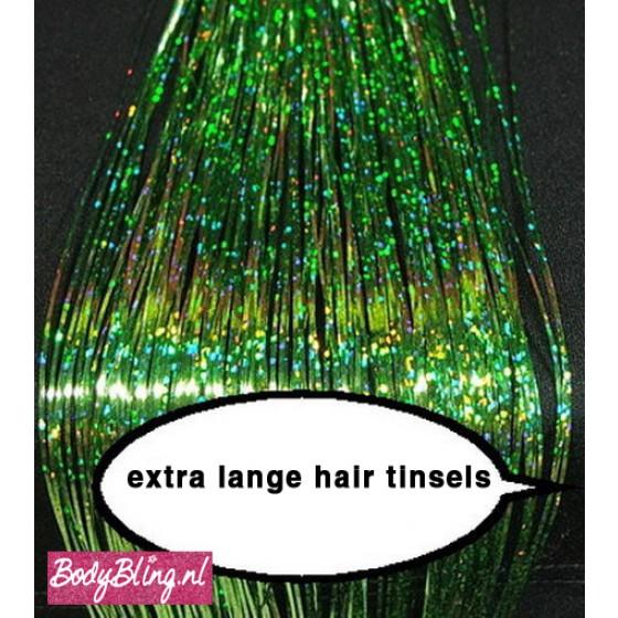 Hair Tinsels Sparkling green #23