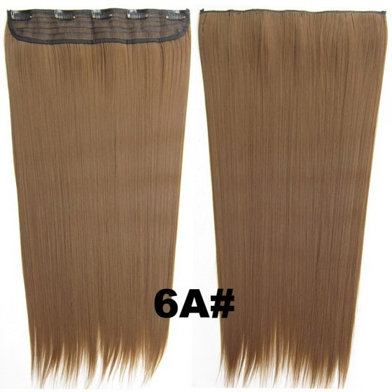 Brazilian clip in hair extension 6A