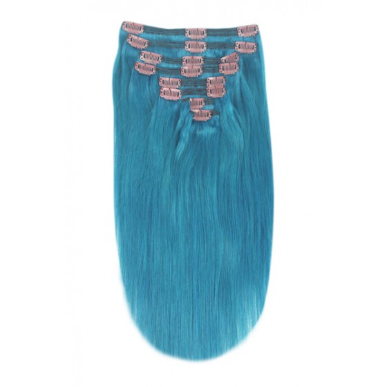 Double Weft Turquoise