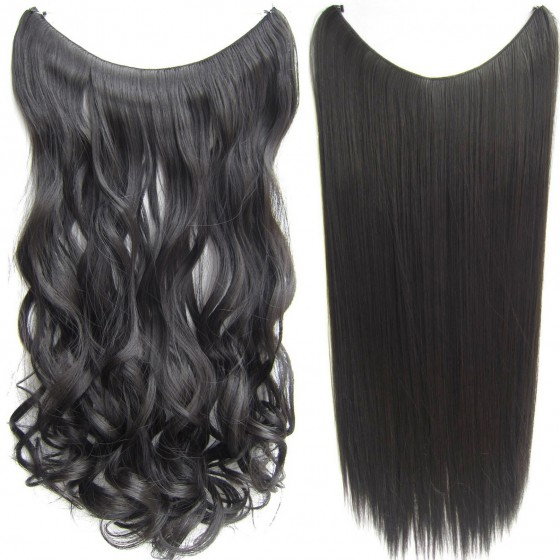 Wire hair wavy + straight - bruin 8#