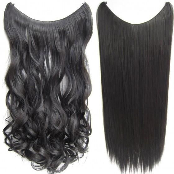 Wire hair wavy + straight - bruin 2#