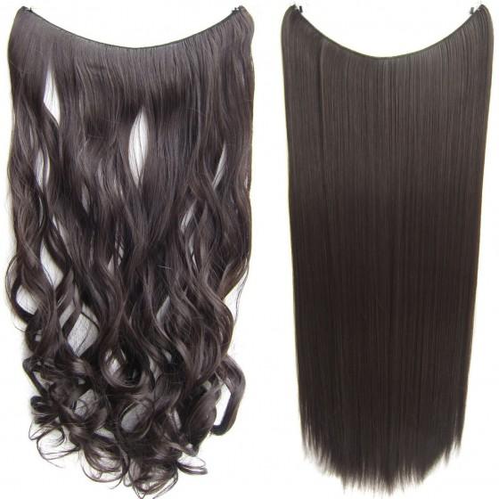 Wire hair wavy + straight - bruin 6#