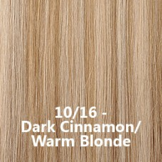 Flip-In Hair 10/16 Dark Cinnamon/Warm Blonde