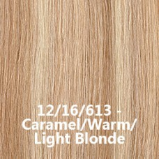 Flip-In Hair 12/16/613 Caramel/Warm/Light Blonde