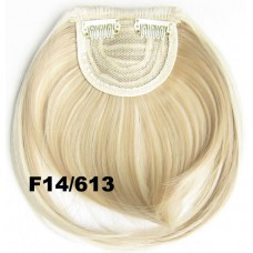 Pony hairextension clip in blond - F14/613