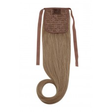 Remy Human Hair Extensions Ponytail straight blond 14#