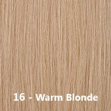 Flip-In Hair 16 Warm Blonde