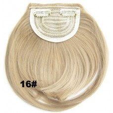 Pony hairextension clip in blond - 16#