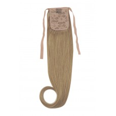 Remy Human Hair Extensions Ponytail straight blond 18#