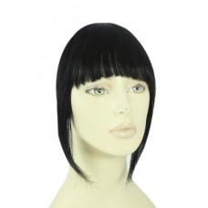 Remy Human Hair Clip-in Pony zwart - 1#