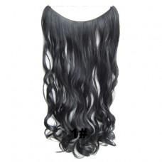 Brazilian Wavy Wire Hair 1#
