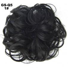 Haar Wrap zwart 1#