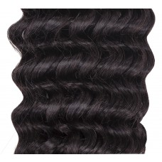 Clip-in Curly Natural Black #1B