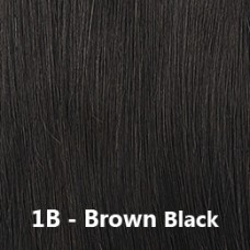 Flip-In Hair 1B Brown Black