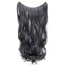 Wire hair wavy 1B#