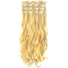 Clip in 7 set wavy 22#