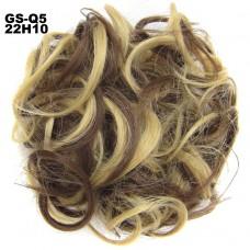 Haar Wrap blond/bruin 22/10#