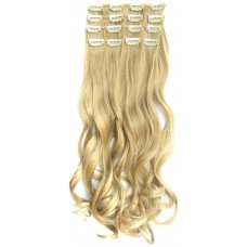 Clip in 7 set wavy 24#