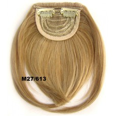 Pony hairextension clip in blond - M27/613