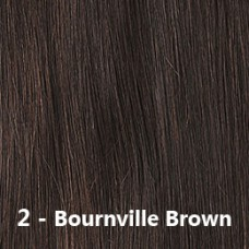 Flip-In Hair 2 Bournville Brown