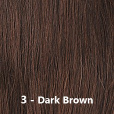 Flip-In Hair 3 Dark Brown
