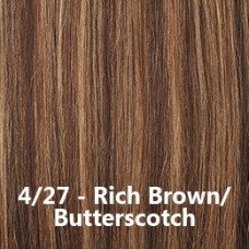 Flip-In Hair Lite 4/27 Rich Brown / Butterscotch