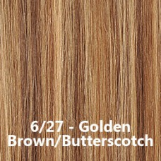 Flip-In Hair 6/27 Golden Brown/Butterscotch