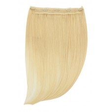 """Remy Human Hair extensions Quad Weft straight 16"""" - blond 613#"""