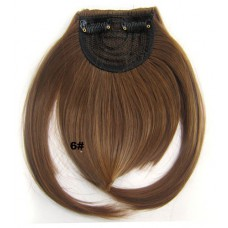 Pony hairextension clip in bruin - 6#