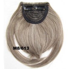 Pony hairextension clip in bruin / blond - M8/613