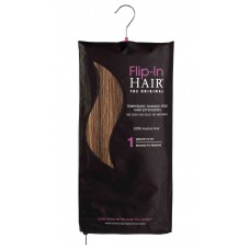Flip-In Hair 4/27 Rich Brown/Butterscotch