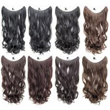 1. Brazilian Wavy Wire Hair