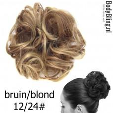 Haar Wrap bruin/blond 12T24#