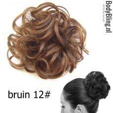 Haar Wrap bruin 12#