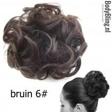 Haar Wrap bruin 6#