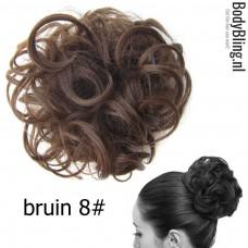 Haar Wrap bruin 8#