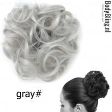 Haar Wrap grijs Gray#