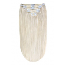 Remy Human Hair extensions straight Iceblonde