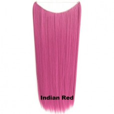 Wire hair straight Indian Red