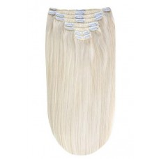 """Remy Human Hair extensions straight Iceblonde-Remy hair-16"""""""