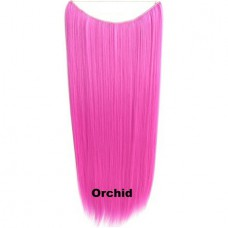 Wire hair straight Orchid