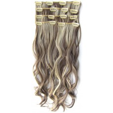 Clip in 7 set wavy P4/613