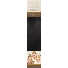 Flip-In Hair Pasoday Ponytail - 1B Brown Black