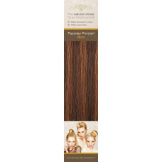 Flip-In Hair Pasoday Ponytail - 4/30 Rich Brown/Light Auburn