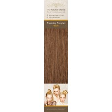 Flip-In Hair Pasoday Ponytail - 6 Golden Brown 40 cm
